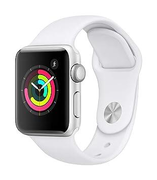 93a54b12166196 Apple Watch Series 3 (GPS) Boîtier en Aluminium Argent de 38 mm avec  Bracelet