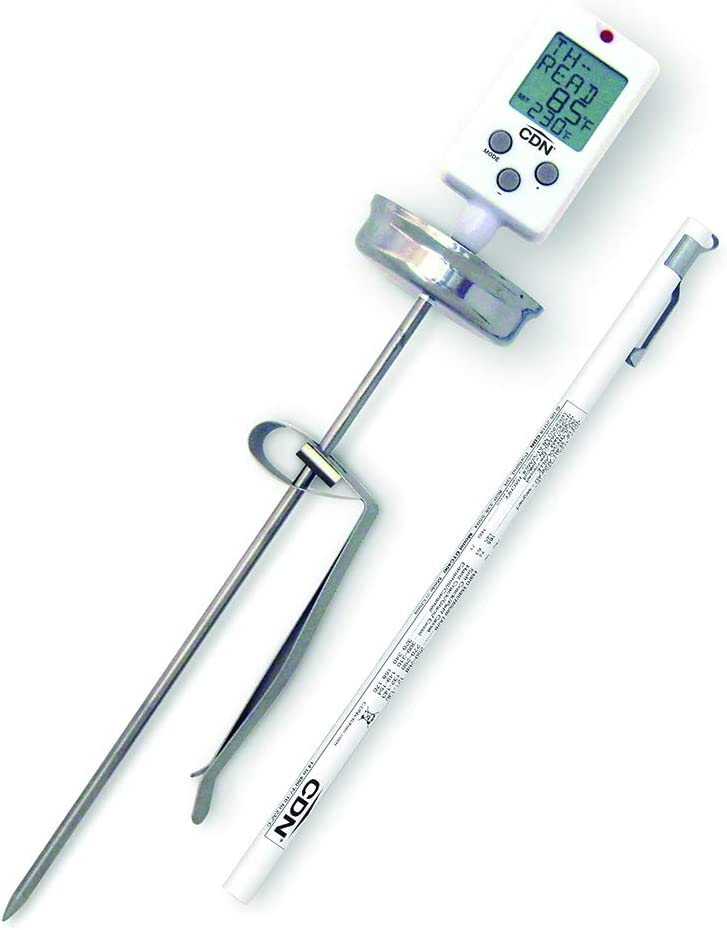 CDN DTC450 Digital Candy/Deep Fry/Pre-Programmed & Programmable Thermometer