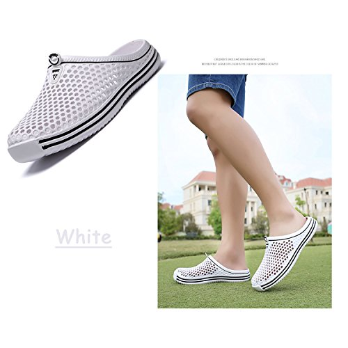 White Shoes Mesh Beach Garden Sandals Quick Drying Mens Women's Shoes Summer Clog BARKOR Walking wOHqpH