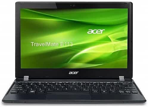 Acer Laptop NX.V7PAA.018;TMB113-E-2812 11.6-Inch Laptop