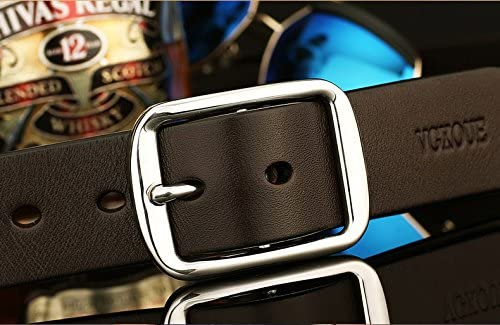 deep coffee, 125 cm 2018 Love/and/Team/Genuine/Leather Belt men stainless steel pin buckle belt leisure belt