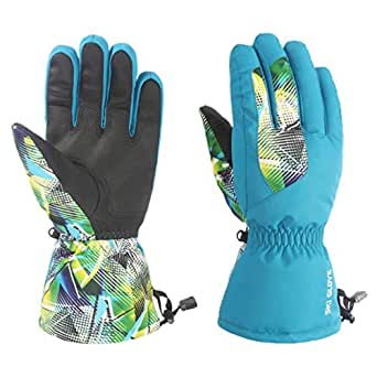 Amazon.com: Men Ski Gloves Warm Ski Gloves with Non-Slip