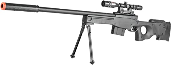 BBTac Airsoft Sniper Rifle Gun - Powerful Spring Loaded Easy to use