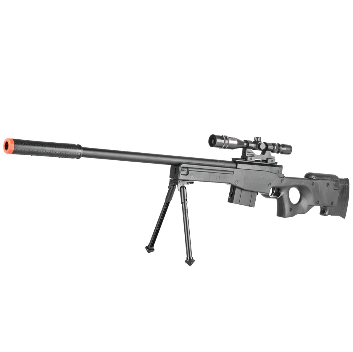 BBTac Airsoft Sniper Rifle Gun - Powerful Spring Loaded Easy to use, Great for Starter Pack Game Play by BBTac