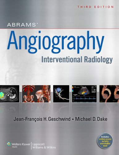 Abrams' Angiography: Interventional Radiology Pdf