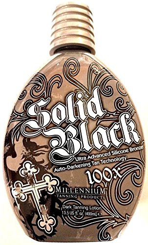 Millennium Tanning Products: Dark Tanning Lotion, 100x, 13.5 fl. oz.(400ml) (Ultra Silicone Bronzer)