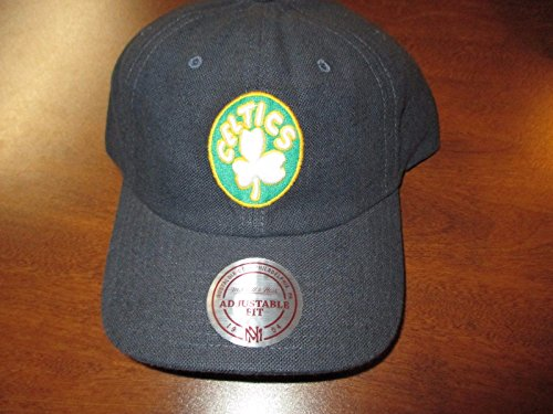 Boston Celtics Mitchell & Ness NBA Snapback Adjustable Hat Cap! by Mitchell & Ness