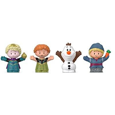 Disney Fisher-Price Frozen Elsa & Friends by Little People, Figure 4-Pack: Toys & Games