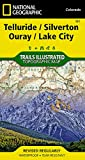 Telluride, Silverton, Ouray, Lake City (National Geographic Trails Illustrated Map)