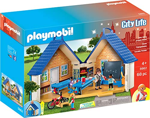 PLAYMOBIL Take Along School House (Playmobil Swimming Pool Best Price)