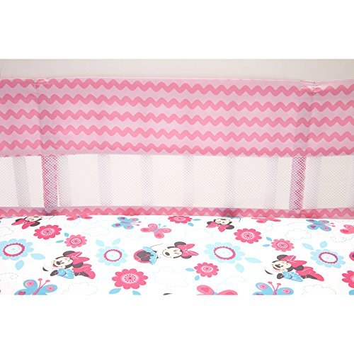 minnie mouse crib bumper - 6
