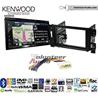 Volunteer Audio Kenwood Excelon DNX694S Double Din Radio Install Kit with GPS Navigation System Android Auto Apple CarPlay Fits 2006-2013 Suzuki Grand Vitara
