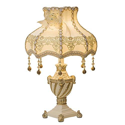 ALUS- EU Vintage Concise Traditional Table Lamps Ceramic E27 Floor Lamps (Color : Retro-2, Size : 51.5cmX31cm)