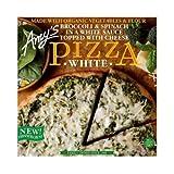 Amys Organic Broccoli and Spinach White Pizza, 12 Ounce -- 8 per case.