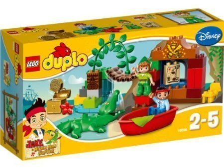 Toy Lego Lego DUPLO Duplo Jake and the Never Land pirates Pirates 10526: Peter Pan's Visit [parallel import goods]