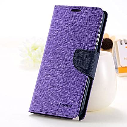 brand new 874e2 455e7 Mercury Goospery Flip Cover Samsung Galaxy J2 4G DUOS SM-J200GZDDINS  (Purple) All Sides Protection
