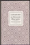img - for Lockhart as a Romantic Biographer by Francis Russell Hart (1971-02-01) book / textbook / text book