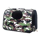 QIQI Portable Pet Carrier Dog Backpack Single-shoulder Bag Cats Bag Outdoor Walking Travel Supplies (Size : M)