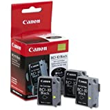 Canon BCI-10 Black Ink Cartridge 3 Pack by Canon