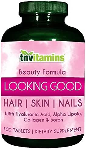 Hair, Skin & Nails Looking Good by TNVitamins - 100 Tablets