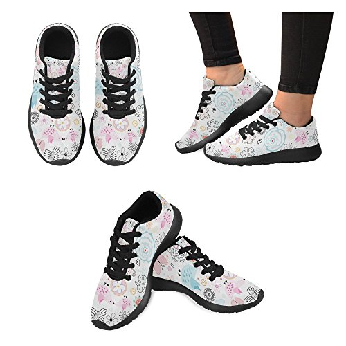 Running Multi Athletic Walking Womens Go Sports 5 InterestPrint Sneaker Jogging Easy Lightweight Comfort Shoes qwEZ1nHn7