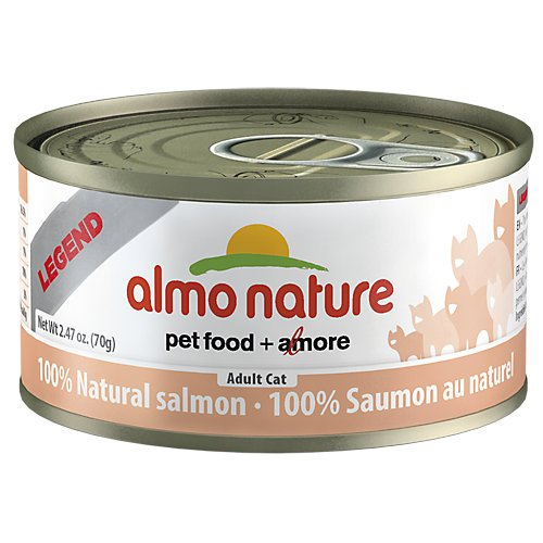 Almo Legend Salmon Can Cat Food 24 Pack by Almo Nature