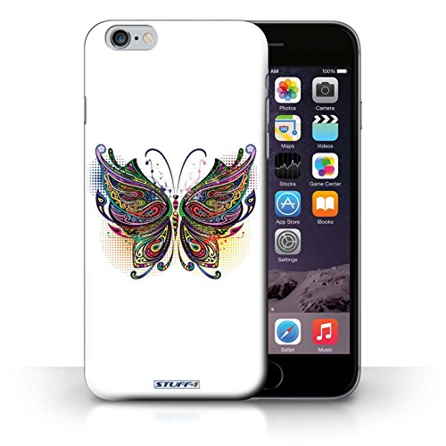 Hülle Case für iPhone 6+/Plus 5.5 / Schmetterling Entwurf / Deko-Tiere Collection