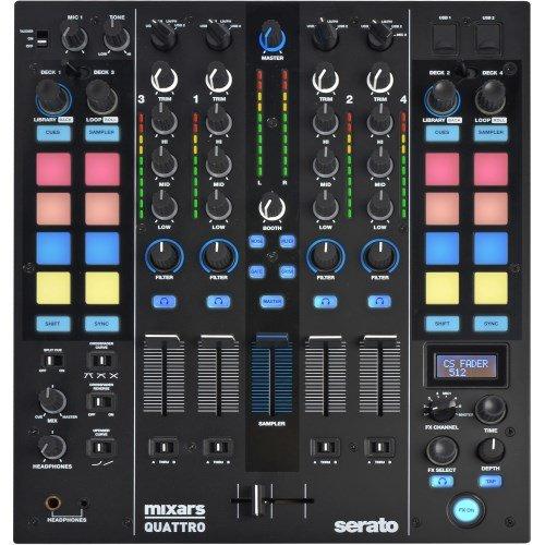 Mixars DJ Mixer QUATTRO -