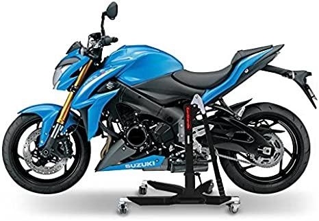 Constands Power Classic Zentralständer Suzuki Gsx S 1000 15 21 Schwarz Matt Motorrad Aufbockständer Heber Montageständer Auto
