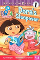 Dora's Sleepover (Ready-To-Read Dora the Explorer - Level 1) (Ready to Read: Level 1: Dora the Explorer) Paperback