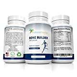 Bone Builder Supplement Increased Health + Growth of Bones - Fights Osteoporosis With Vitamins And Minerals Plus Calcium + Joint Support For Women - High Absorption Formula - 90 count