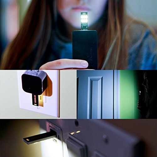 GEEKLED USB POWERED 6-LED PCB LIGHT: 5 Keychain Mini USB Lamp Sticks with Capacitive Touch Dimming Technology Photo #5