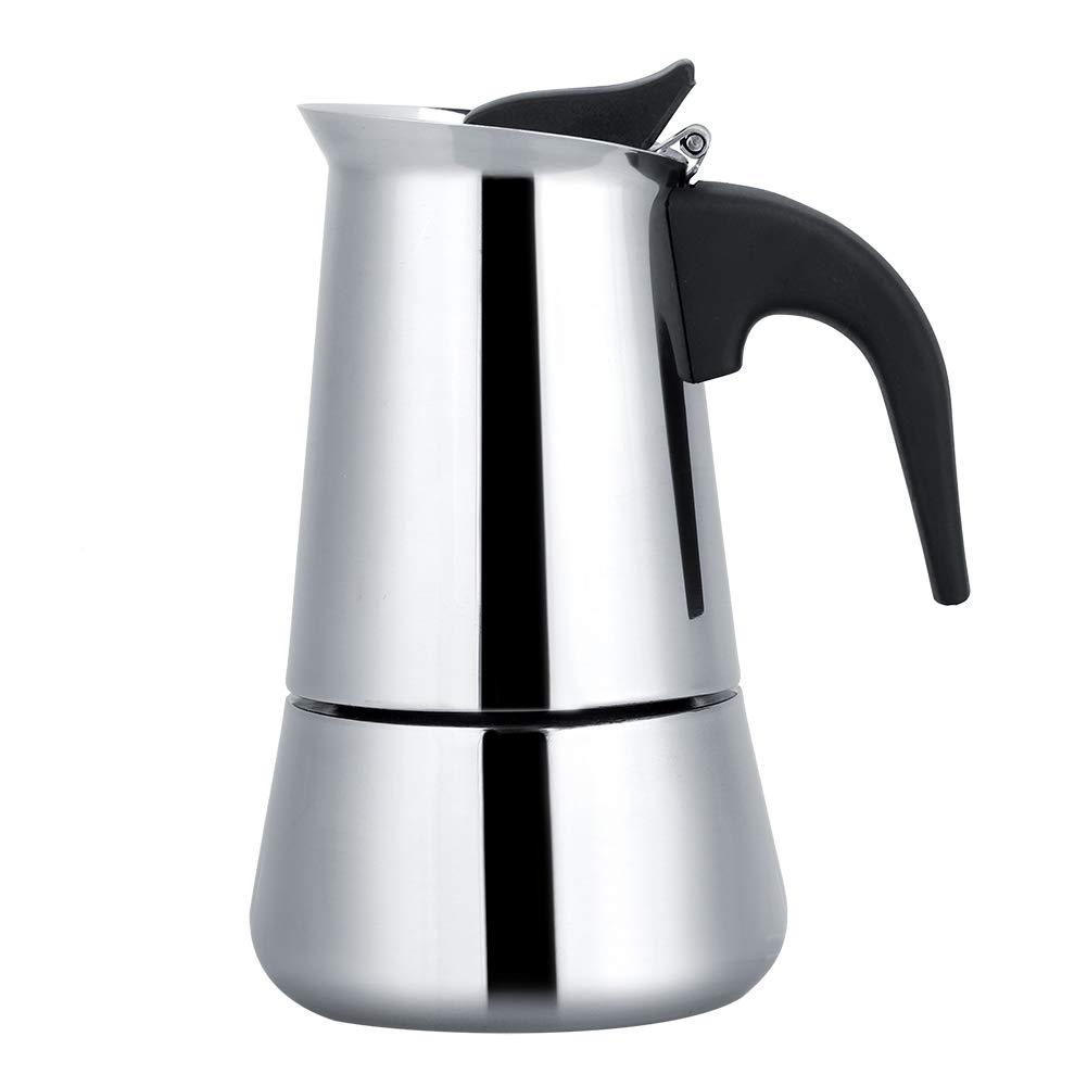 Acquisto Caffettiera portatile in acciaio inox, ideale per casa, campeggio e viaggi 200ml Prezzi offerta