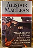 Where Eagles Dare; H. M. S. Ulysses; Ice Station Zebra; When Eight Bells Toll; Guns Of Navarone by Alistair MacLean (1980-11-06)