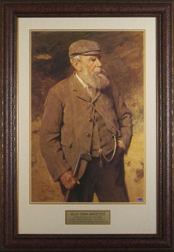 Old Tom Morris Framed Portrait - Framed Golf Photos, Plaques and Collages