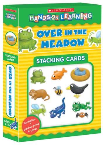 Over in the Meadow (Scholastic Hands-on Learning Stacking Cards)
