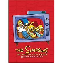 The Simpsons - The Complete Fifth Season collector's ed [DVD] [1993] (1993)