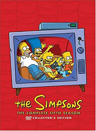 Amazoncom The Simpsons The Complete Fifth Season Collectors Ed