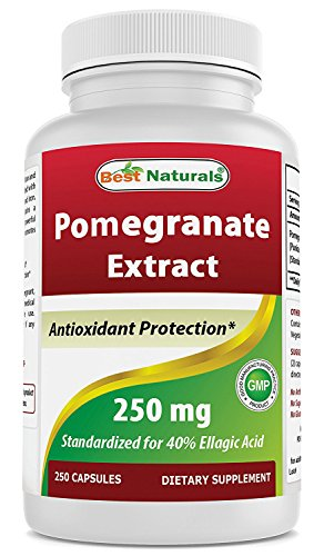 Best Naturals Pomegranate Extract 250 mg 250 Capsules