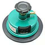 Fabric Sampler Cutter, High Precision 100 Sqcm Round Cloth Sample Disk Cutter, Fabric Weight Cutter,Textile Fabric GSM Sampling for Cloth Device Weight Instrument Sampler Paper Cutting (Green)