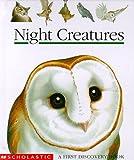 Night Creatures, Gallimard Jeunesse Publishing Staff, 0590117653