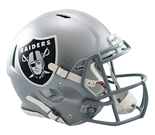 NFL Oakland Raiders Speed Authentic Football Helmet (Nfl Oakland Raiders Helmet)
