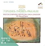 Stravinsky: Agon - Schuller: Seven Studies on Themes of Paul Klee by Erich Leinsdorf (2014-03-19?