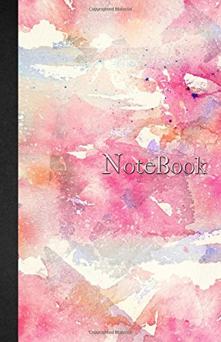 Notebook: Carnet de notes Ligné - A5 - 110 pages - Watercolor & Marbre - 110 pages, couverture souple glossy Dot point, bullet journal, dot grid, planner, planning, organizer, journal (French Edition) pdf epub