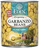 Eden Garbanzo Beans (Chick Peas) - 29 oz - 12 Pack