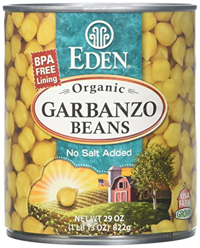Eden Garbanzo Beans (Chick Peas) - 29 oz - 12 Pack by Eden