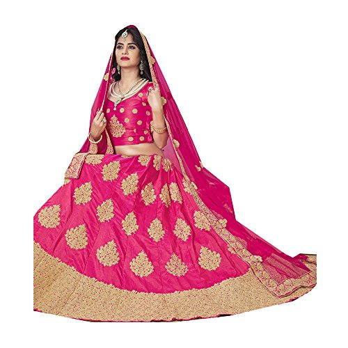 Indian Da Traditional Ethnic Lehenga Partywear Facioun Designer Choli Royal Pink aqq54PwOZ
