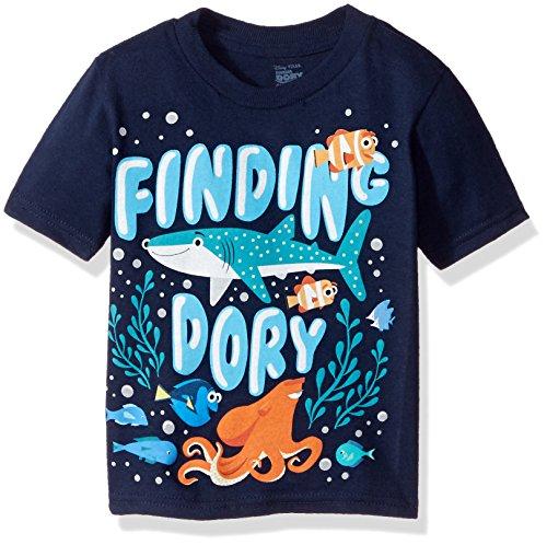 Disney Boys Toddler Boys Finding Dory Under the Sea Short Sleeve T-Shirt