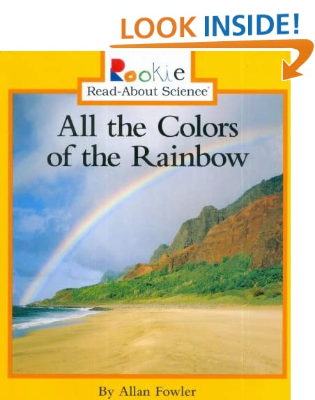 all the colors of the rainbow rookie read about science paperback - All The Colors Of The Rainbow Song