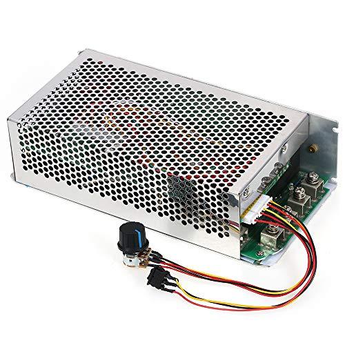 KKmoon DC Motor Adjustable Speed Controler Programmable Regulator PWM Reversible Control 10V-50V 5000W 200A